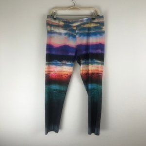 American Eagle Graphic Leggings Size XL